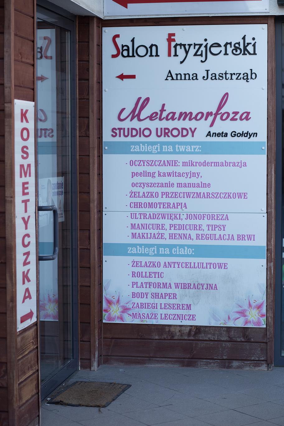 Galeria Metamorfoza Profesjonalne Studio Urody Kosmetyczka
